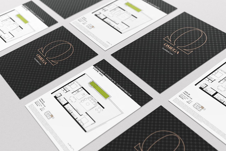 Omega-floorplans